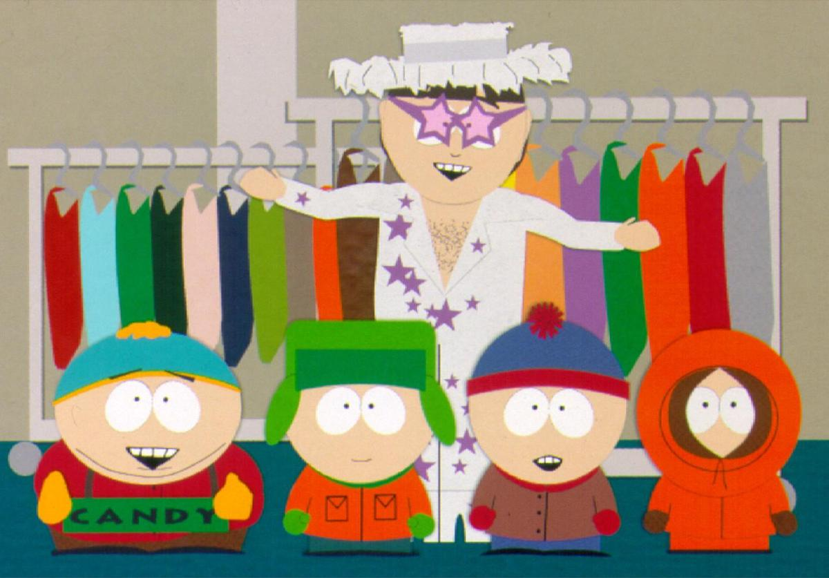 South Park characters.