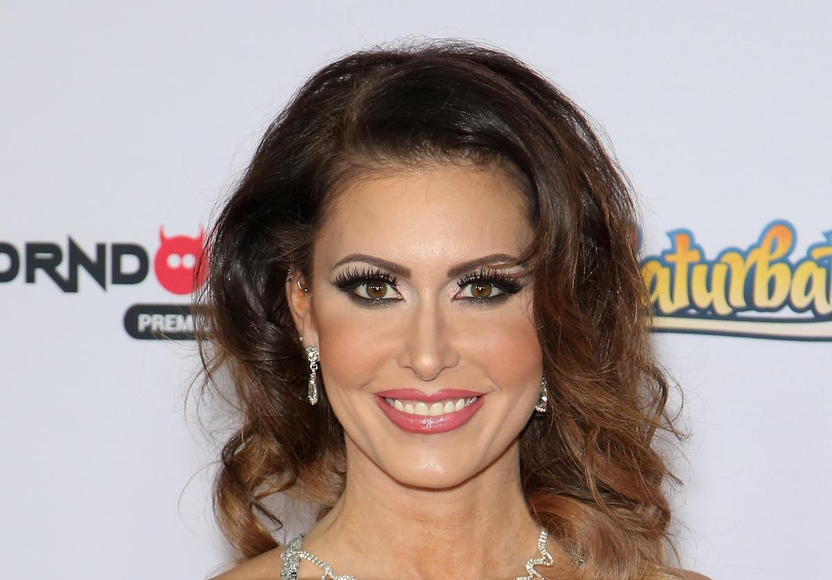 Jessica Jaymes at the Adult Video Awards