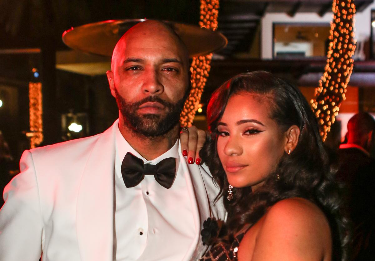 Joe Budden and Cyn Santana attend Sean 'Diddy' Combs Hosts CIROC The New Year 2018 Powered By Deleon Tequila at Star Island on December 31, 2017 in Miami, Florida.