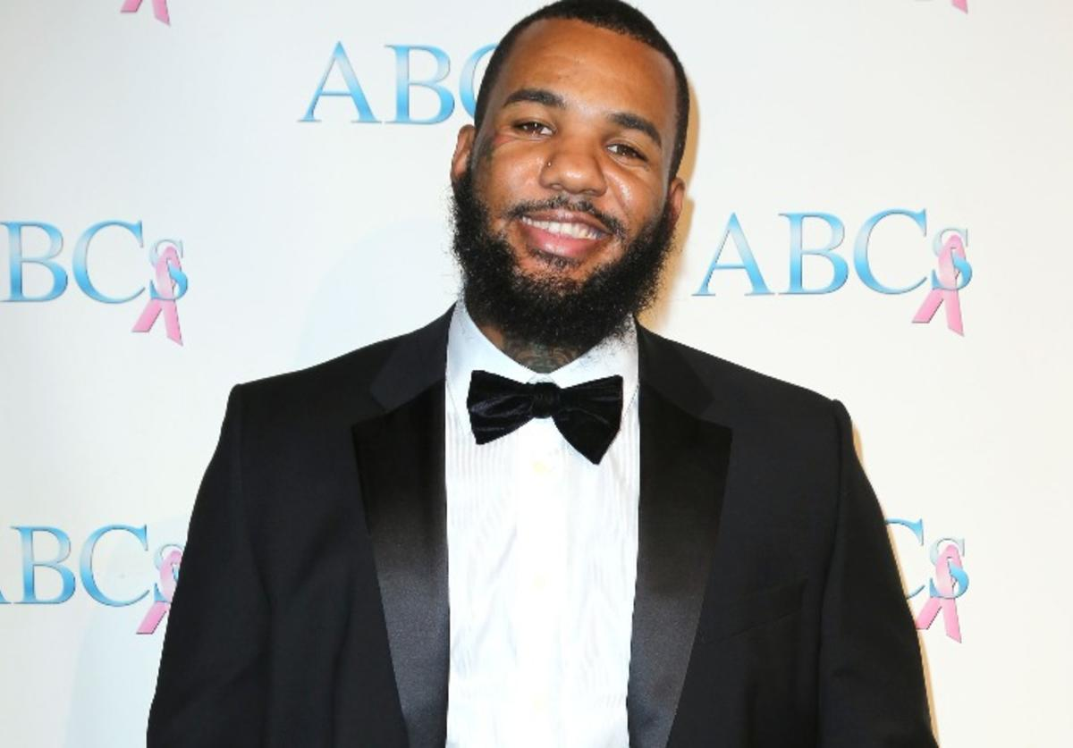 Rapper Jayceon Terrell Taylor, a.k.a. The Game, attends Associates for Breast and Prostate Cancer Studios 25th Annual Talk of The Town Black Tie Gala at The Beverly Hilton Hotel