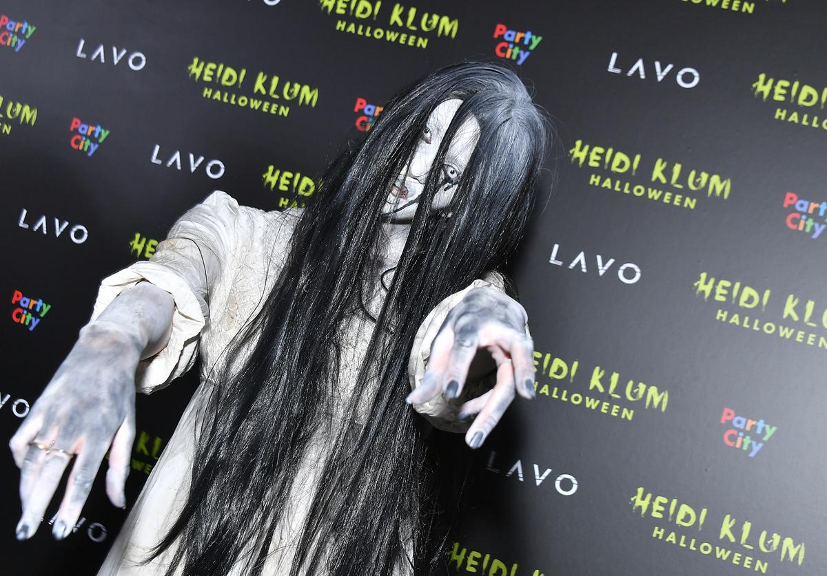 Model Betty Taube-Gunter attends Klum's 19th Annual Halloween Party at Lavo on October 31, 2018 in New York City.