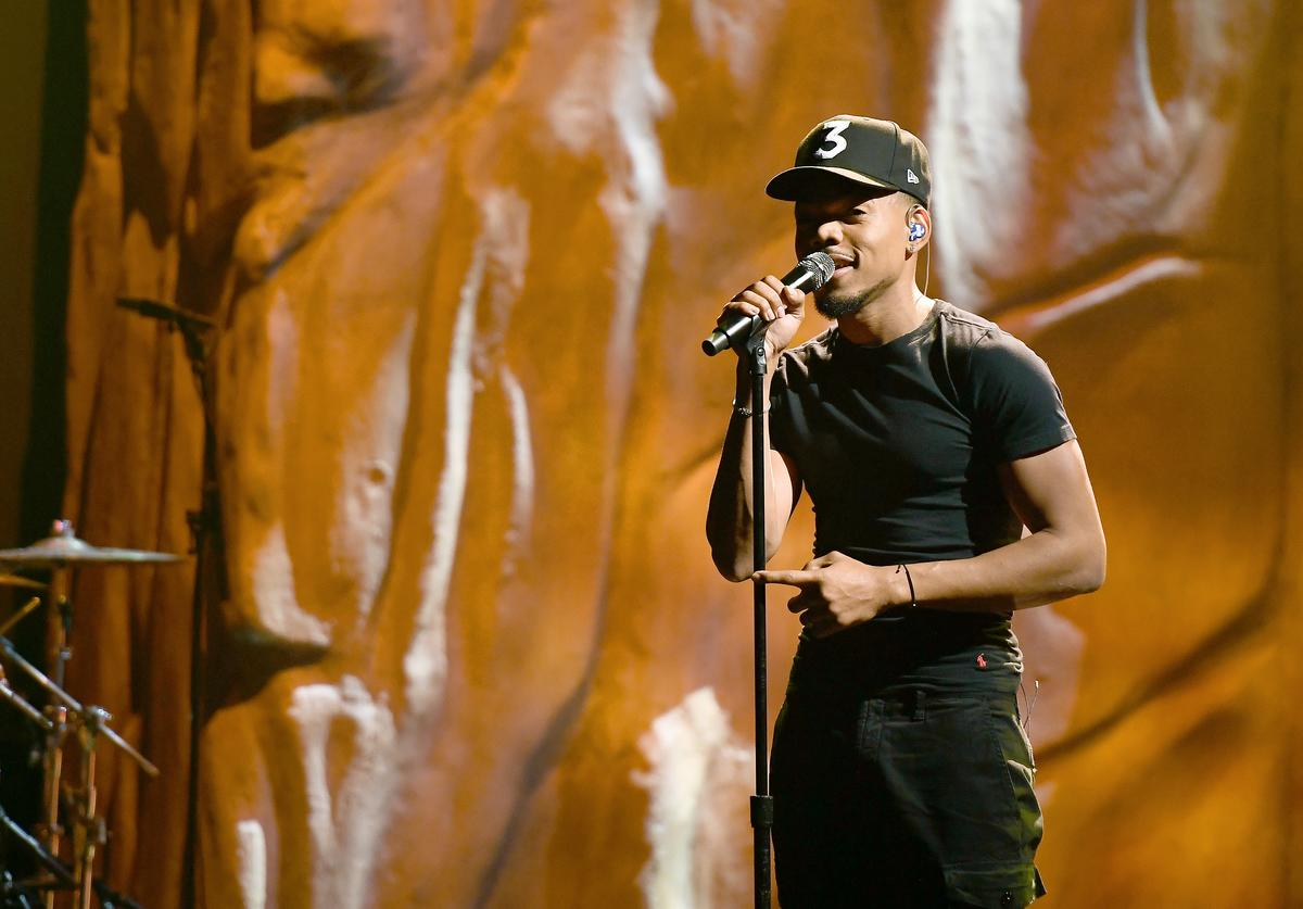 Chance The Rapper performs onstage at the BET Hip Hop Awards 2019 at Cobb Energy Center