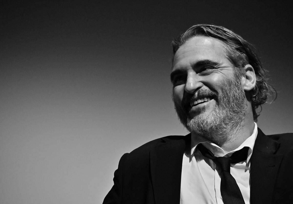 "Joaquin Phoenix attends the 57th New York Film Festival - ""Joker"" Intro and Q&A at Alice Tully Hall"