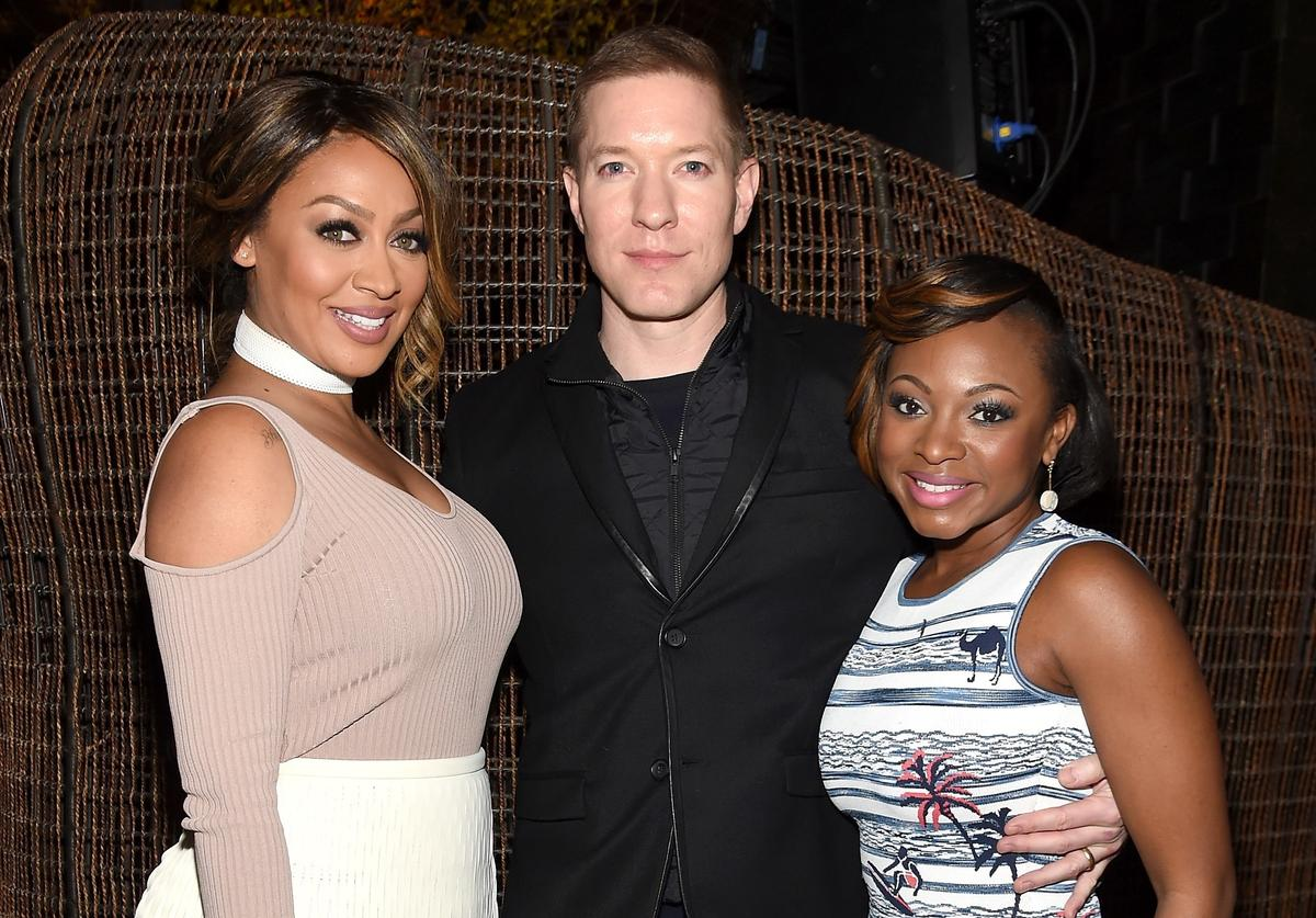 "La La Anthony, Joseph Sikora, and Naturi Naughton attend the New York premiere of ""The Girlfriend Experience"" at The Paris Theatre on March 30, 2016 in New York City."