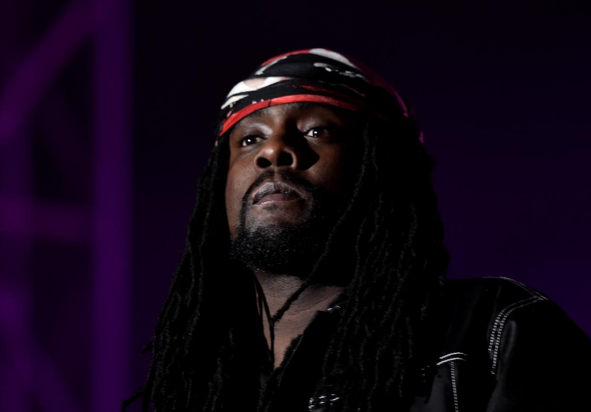 Wale performs during the 2019 Rolling Loud music festival at Citi Field on October 12, 2019