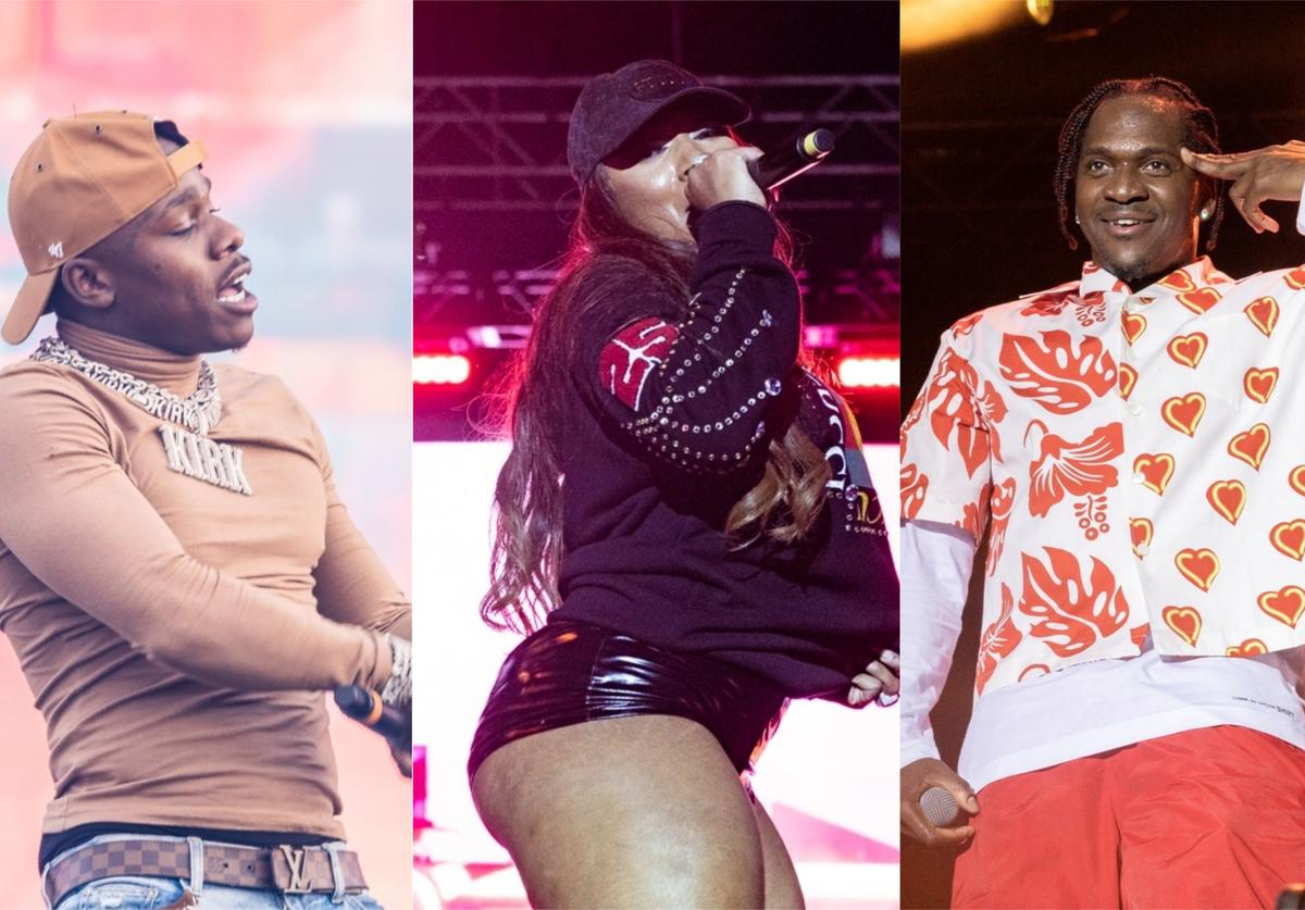 DaBaby, Megan Thee Stallion and Pusha T at Rolling Loud 2019