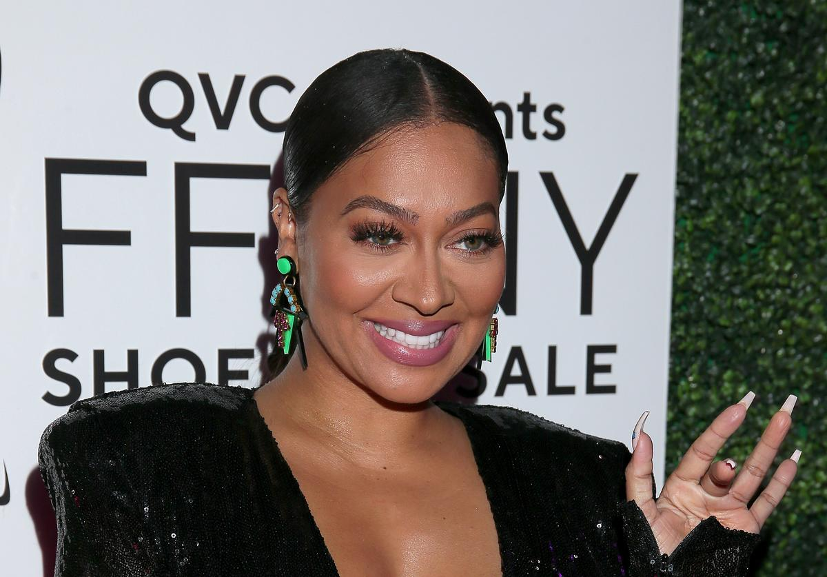 "La La Anthony attends the 26th Annual QVC Presents ""FFANY Shoes On Sale"" Gala"
