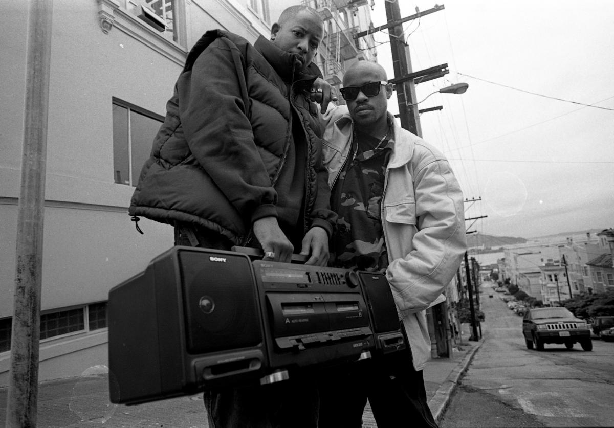 Gang Starr, Guru and DJ Premier, San Fransisco, United States, 1991.