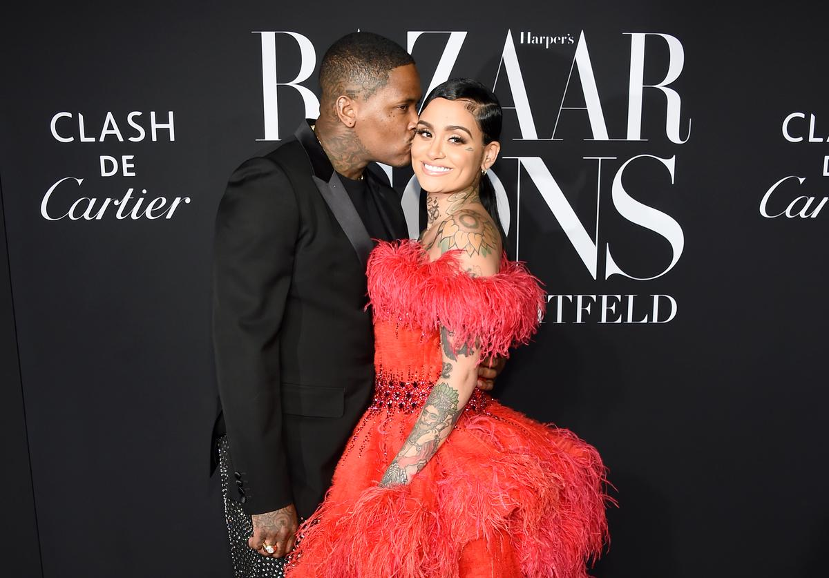 "YG and Kehlani attend as Harper's BAZAAR celebrates ""ICONS By Carine Roitfeld"" at The Plaza Hotel presented by Cartier - Arrivals on September 06, 2019 in New York City"