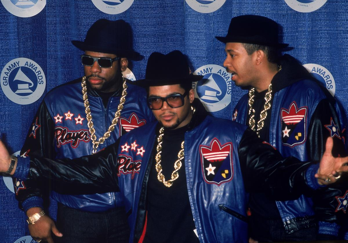 Run DMC at Grammy Awards, 1980s