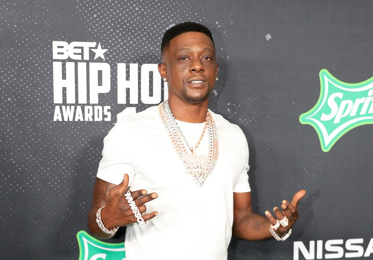 Boosie Badazz attends the BET Hip Hop Awards 2019 at Cobb Energy Center on October 05, 2019 in Atlanta, Georgia.