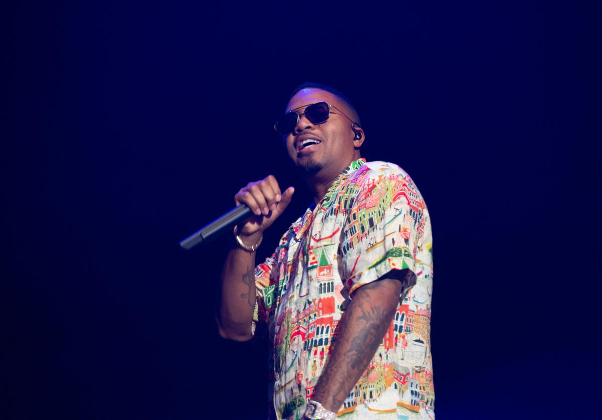 Nas performs at the 2019 Governors Ball Festival at Randall's Island on June 02, 2019 in New York City.