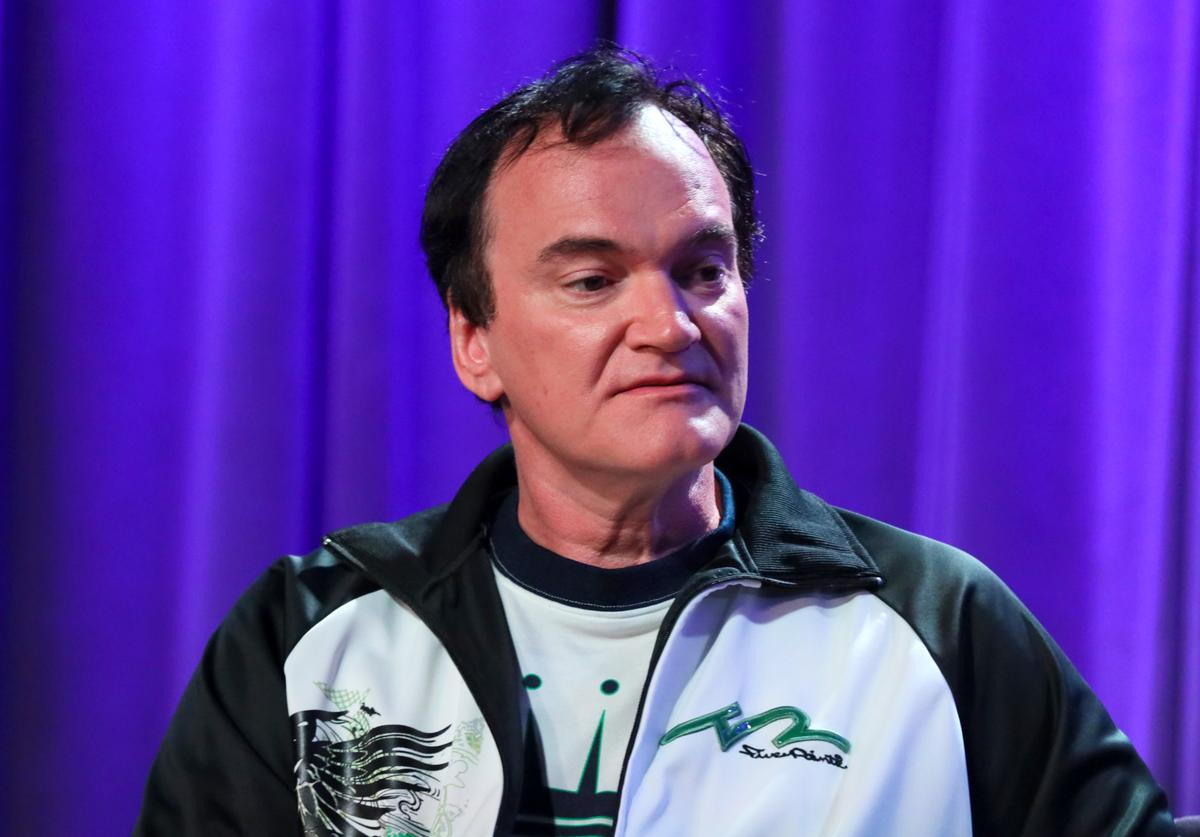 Quentin Tarantino speaks onstage at Once Upon A Time In Hollywood: An Evening With Quentin Tarantino & Friends at the GRAMMY Museum on October 02, 2019 in Los Angeles, California.