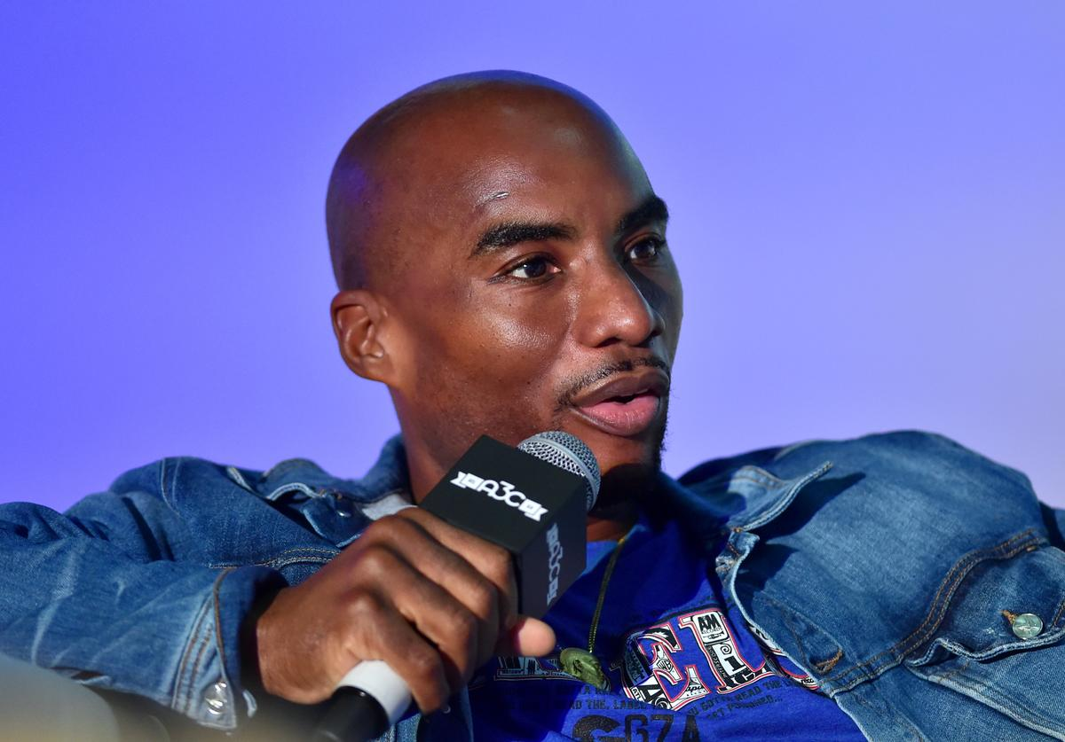 Charlamagne Tha god attends 2019 A3C Festival and Conference at Atlanta Convention center at AmericasMart on October 11, 2019 in Atlanta, Georgia.