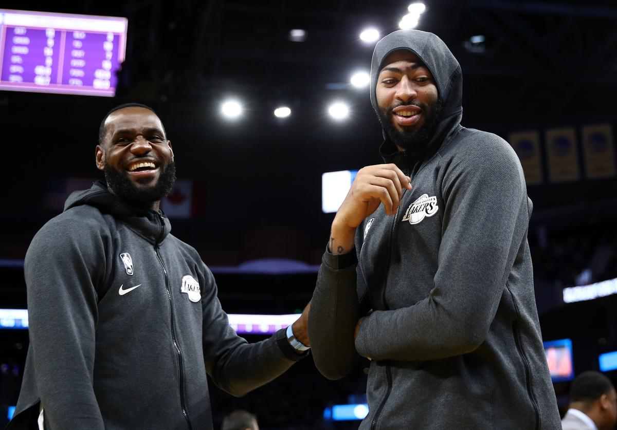 LeBron James & Anthony Davis