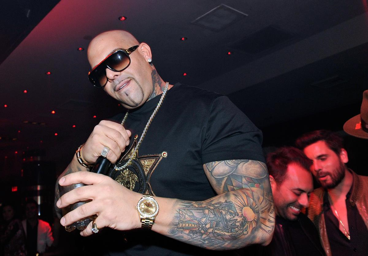 Rapper Mally Mall appears at 1 OAK Nightclub at The Mirage Hotel & Casino on February 21, 2015 in Las Vegas, Nevada.