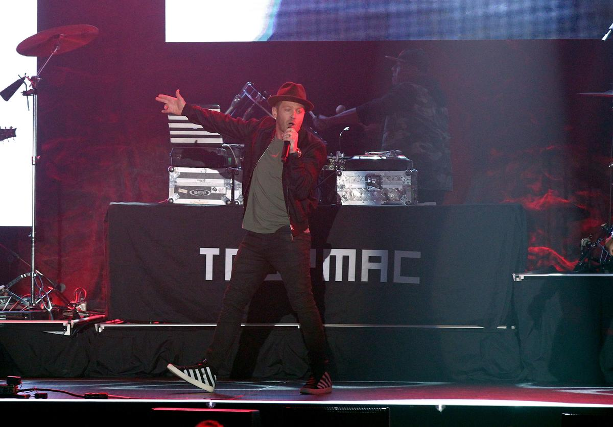 TobyMac performs onstage during the 2016 Dove Awards at Allen Arena, Lipscomb University on October 11, 2016 in Nashville, Tennessee