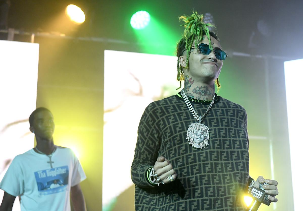 Lil Pump performs onstage during day 1 of REVOLT Summit x AT&T Summit on September 12, 2019 in Atlanta, Georgia