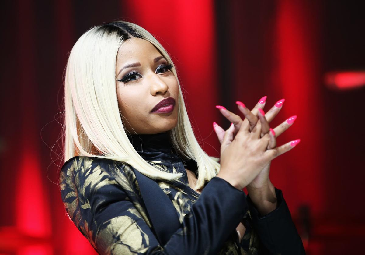 Nicki Minaj onstage at the 2013 BMI R&B/Hip-Hop Awards at Hammerstein Ballroom on August 22, 2013 in New York City