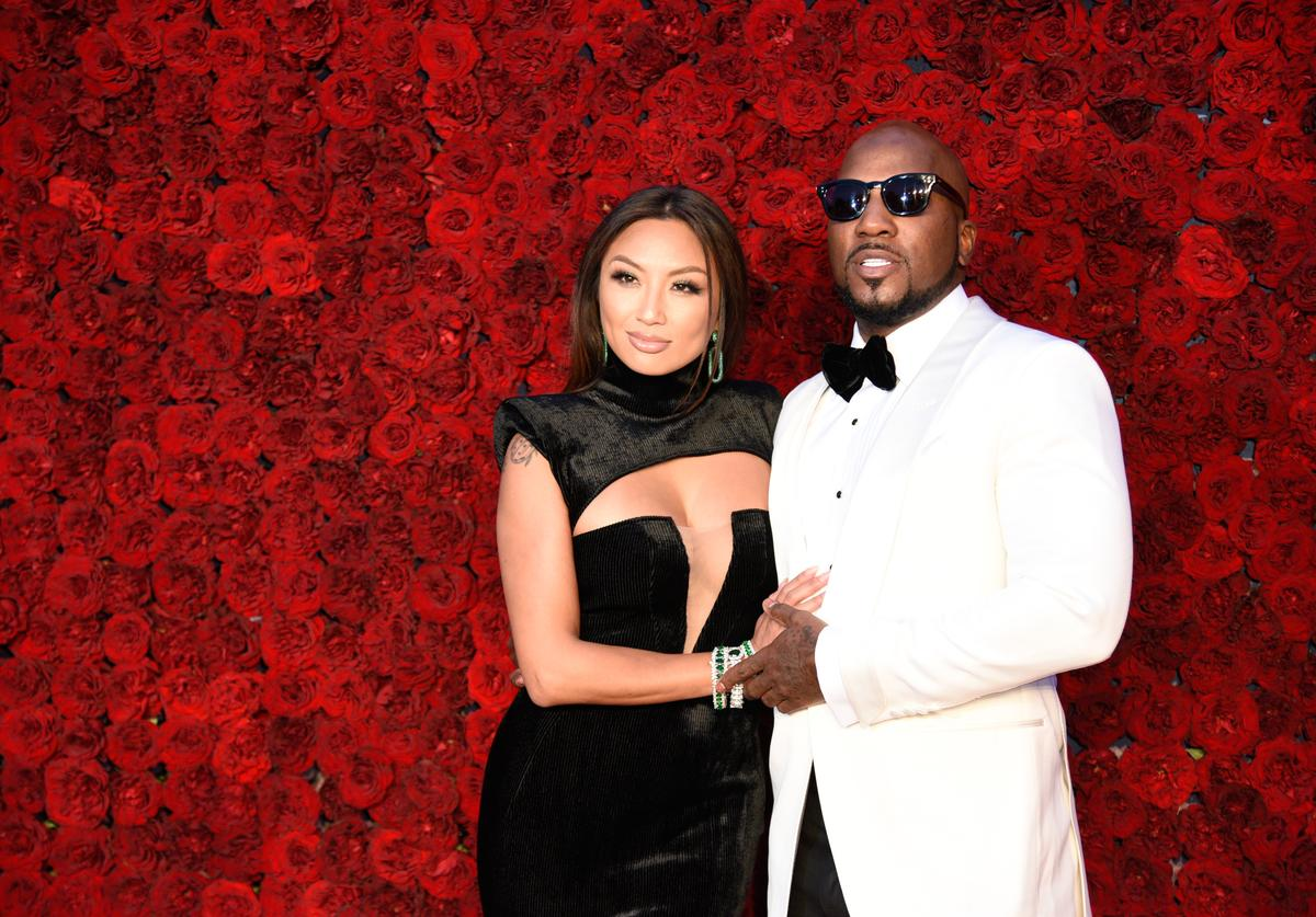 Jeannie Mai and Jeezy attend Tyler Perry Studios grand opening gala at Tyler Perry Studios on October 05, 2019 in Atlanta, Georgia