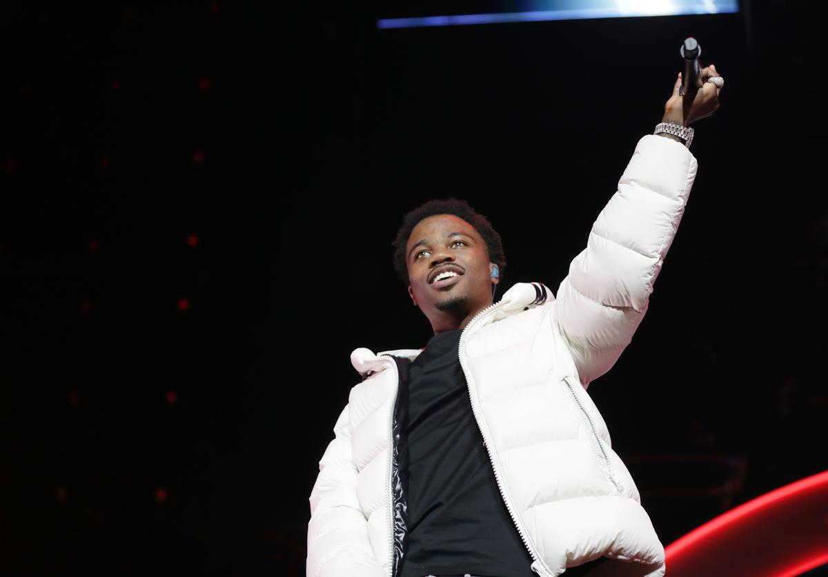 Roddy Ricch performs onstage at the 2019 BET Experience STAPLES Center Concert Sponsored By Coca-Cola at Staples Center on June 21, 2019 in Los Angeles, California
