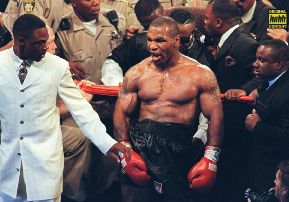 Mike Tyson in the ring