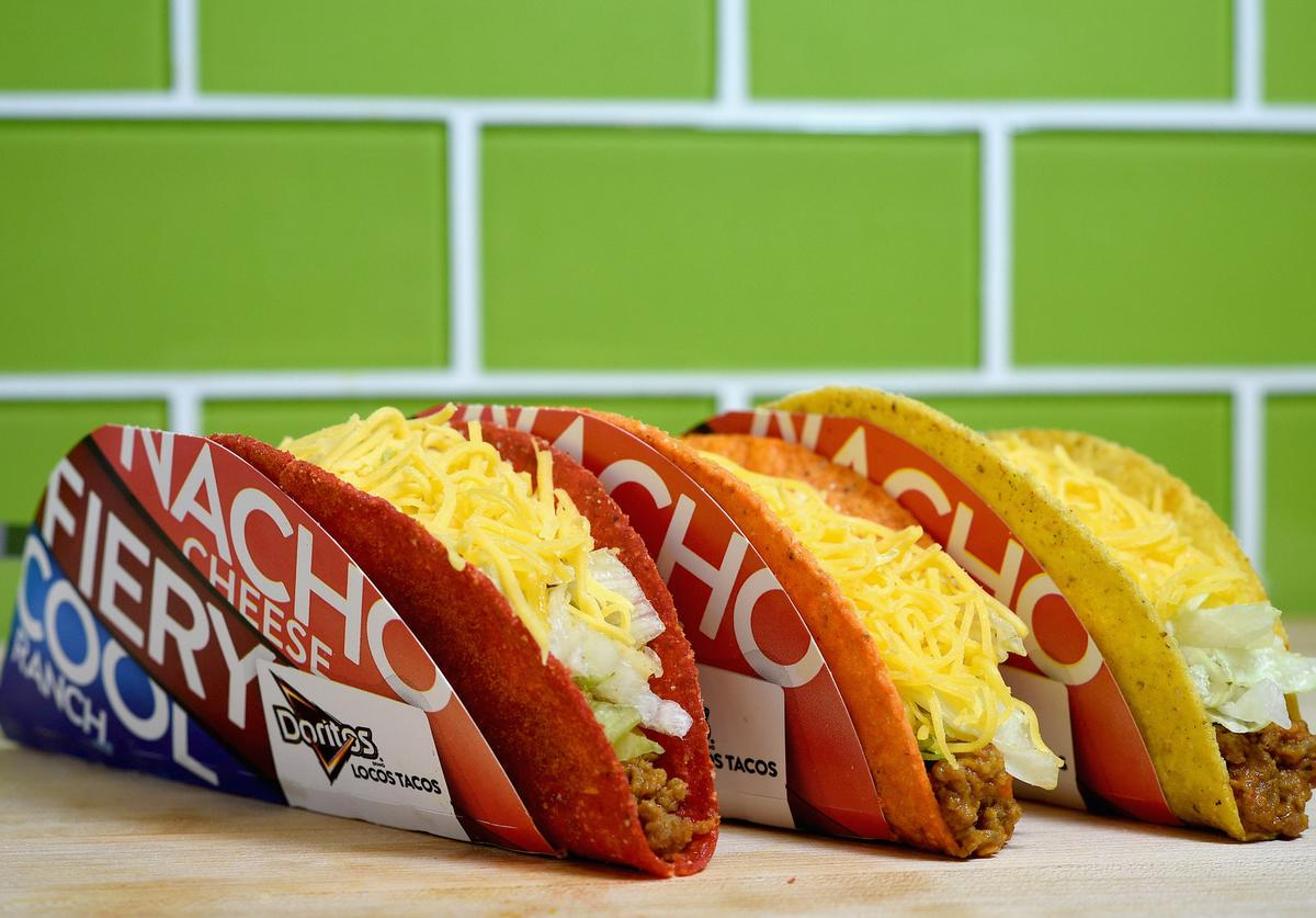 Doritos Locos Taco continues to be a best seller for Taco Bell