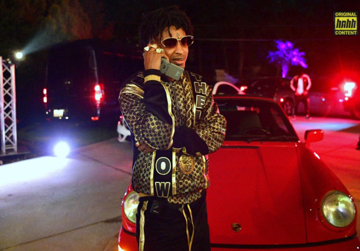 21 Savage on Halloween 2018