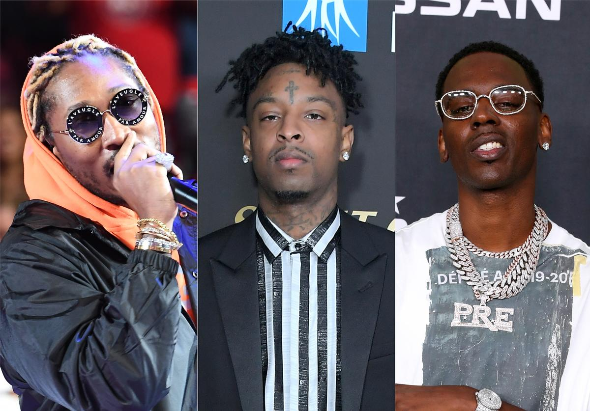 Future, 21 Savage, Young Dolph