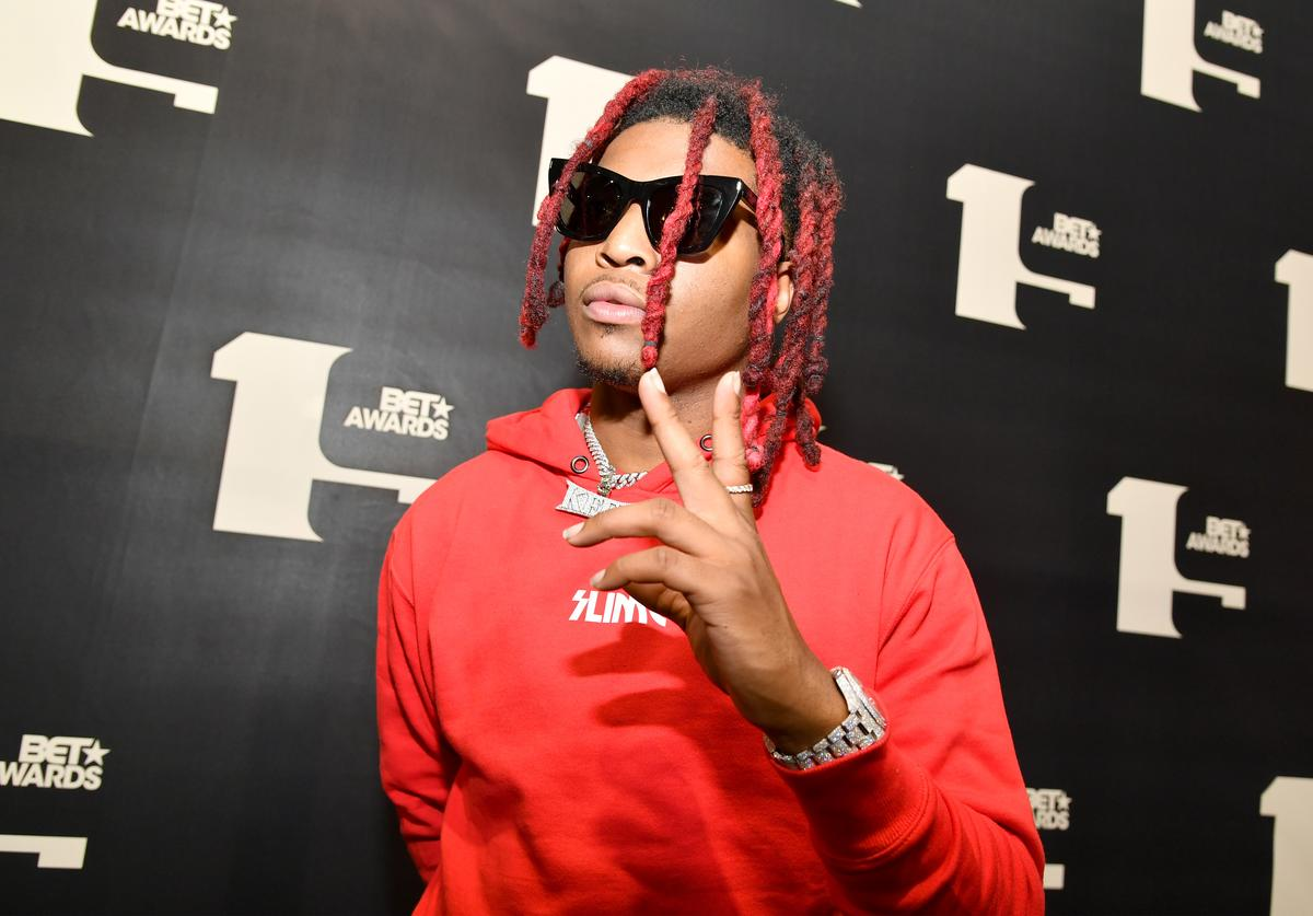 Lil Keed attends the BET Awards 2019 Radio Broadcast Center at Microsoft Theater on June 21, 2019 in Los Angeles, California