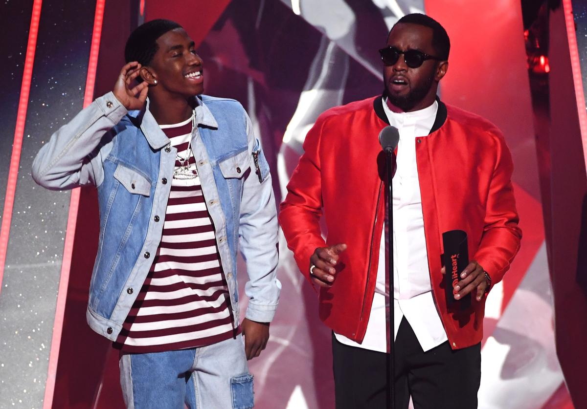 Christian Combs & Diddy
