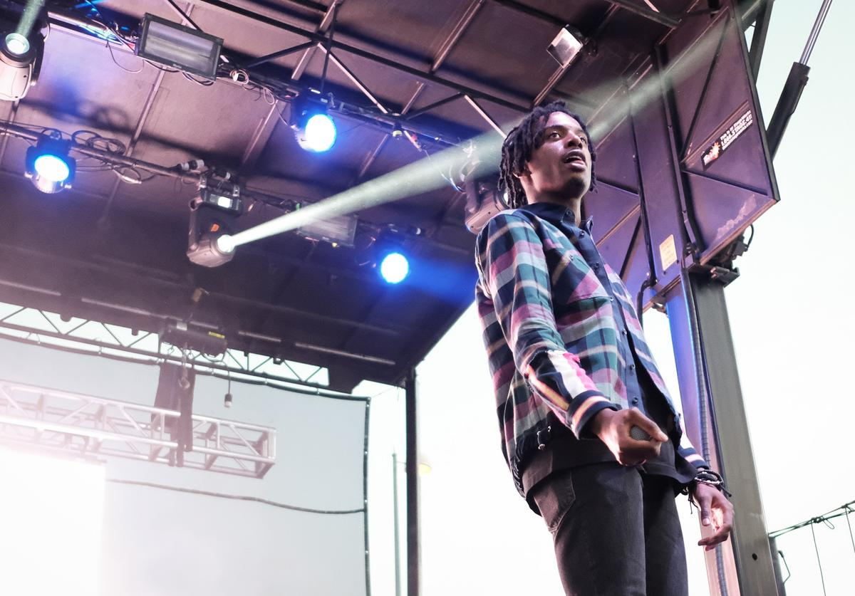 Playboi Carti performs on August 20, 2017 in Wantagh City