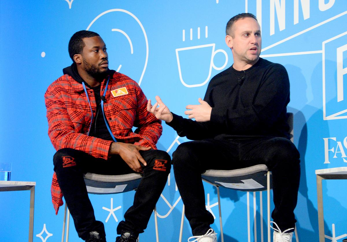 Meek Mill & Michael Rubin