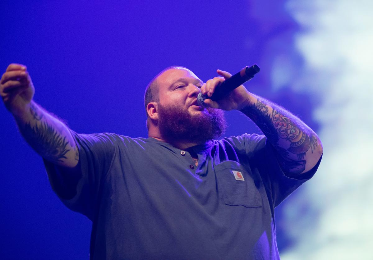 Action Bronson performing