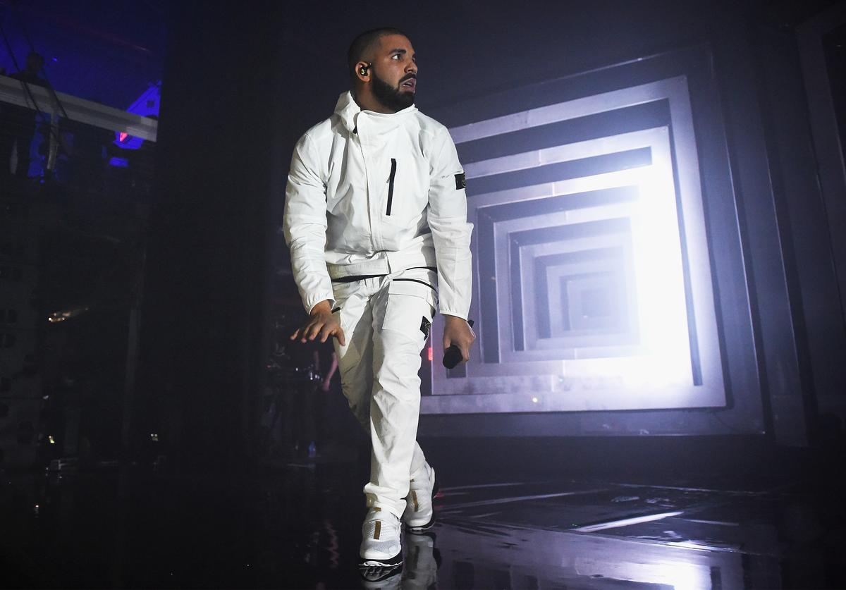 Drake performs onstage during the 2017 Adult Swim Upfront Party at Terminal 5 on May 17, 2017 in New York City