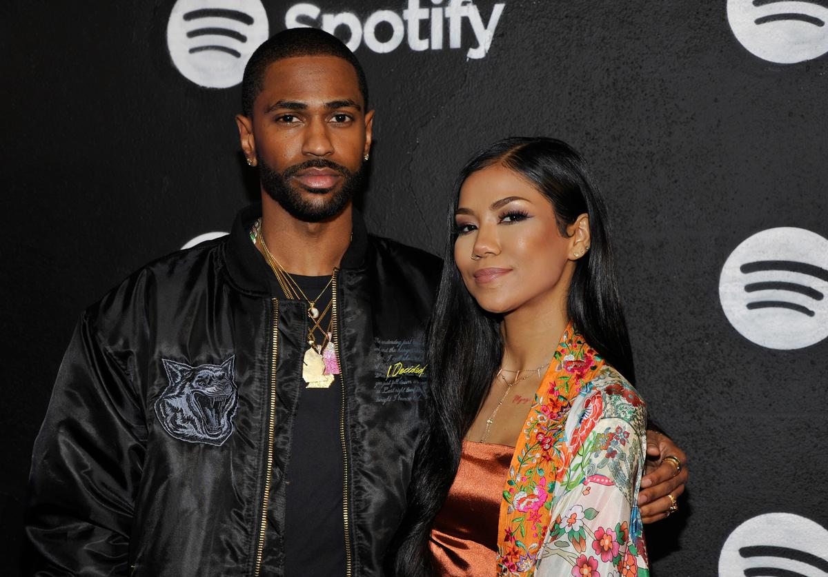 Big Sean and singer Jhene Aiko attend the Spotify Best New Artist Nominees celebration at Belasco Theatre on 9, 2017 in Los Angeles, California