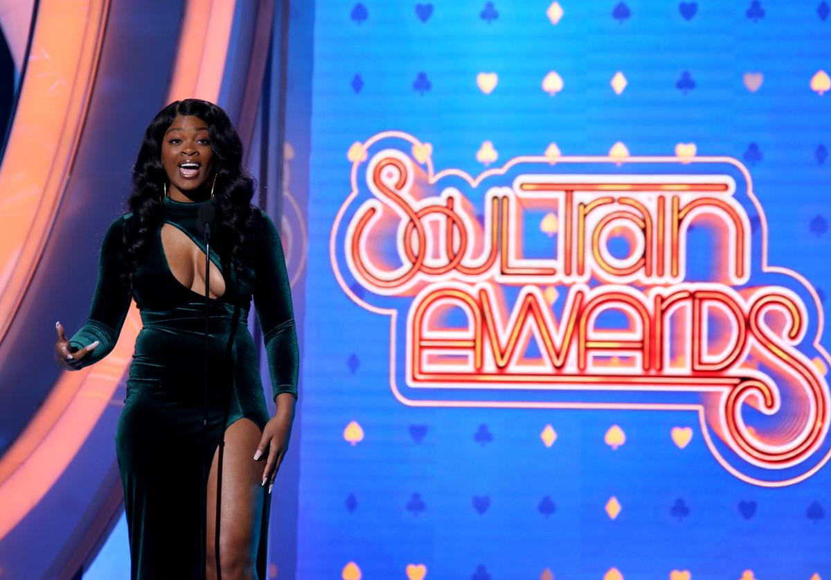 Ari Lennox at Soul Train Awards