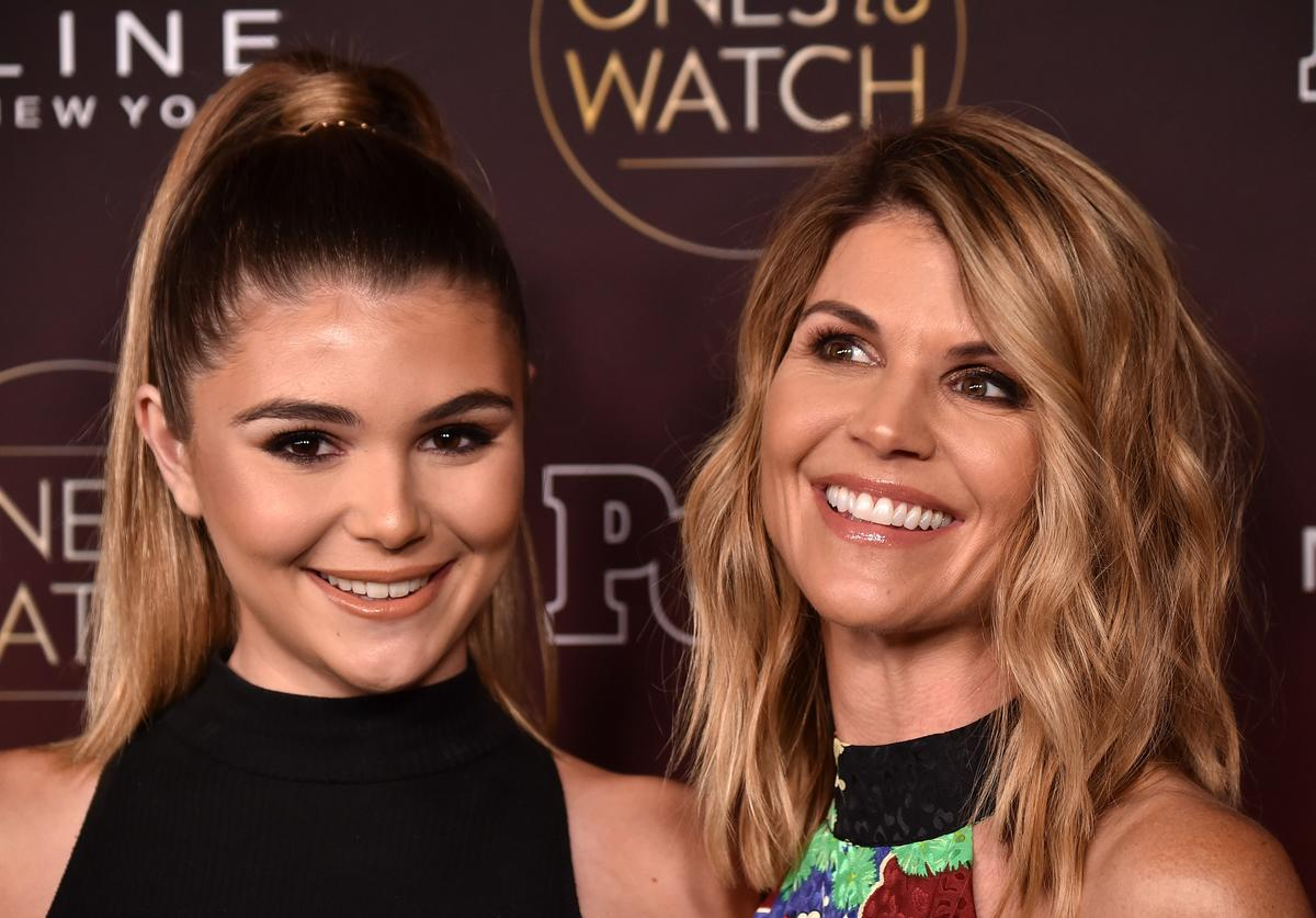 """Olivia Jade and Lori Loughlin attend People's """"Ones To Watch"""" at NeueHouse Hollywood on October 4, 2017 in Los Angeles, California"""