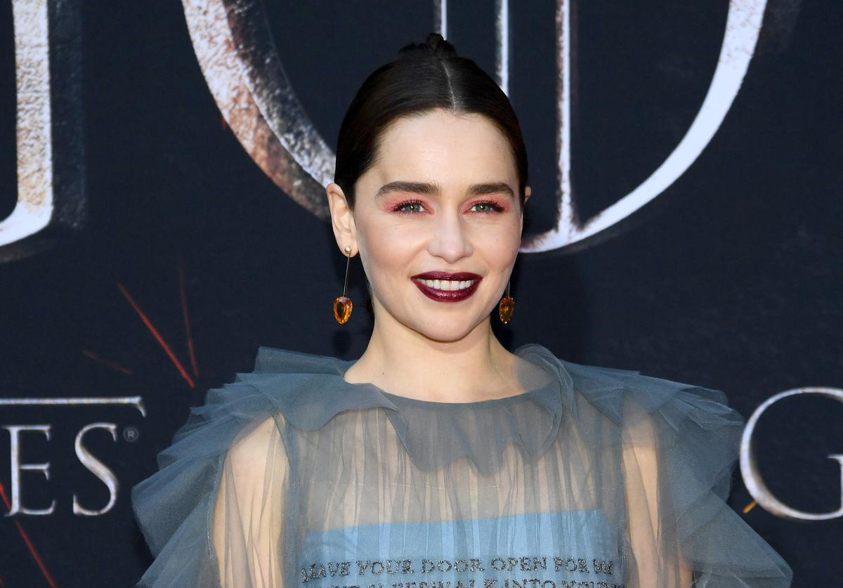 Emilia Clarke at Game Of Thrones Season 8 Premiere