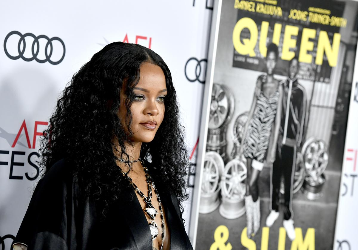 """Rihanna at """"Queen and Slim"""" premiere"""