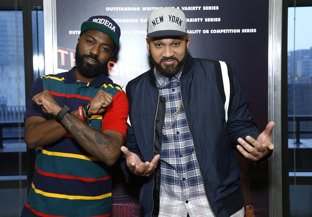 """Desus Nice and The Kid Mero attend """"Desus & Mero"""" FYC event at Stanley H. Kaplan Penthouse at Lincoln Center on May 03, 2019 in New York City."""