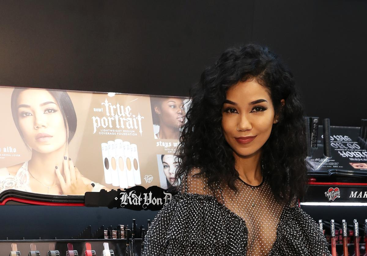 Jhene Aiko at Sephora Event