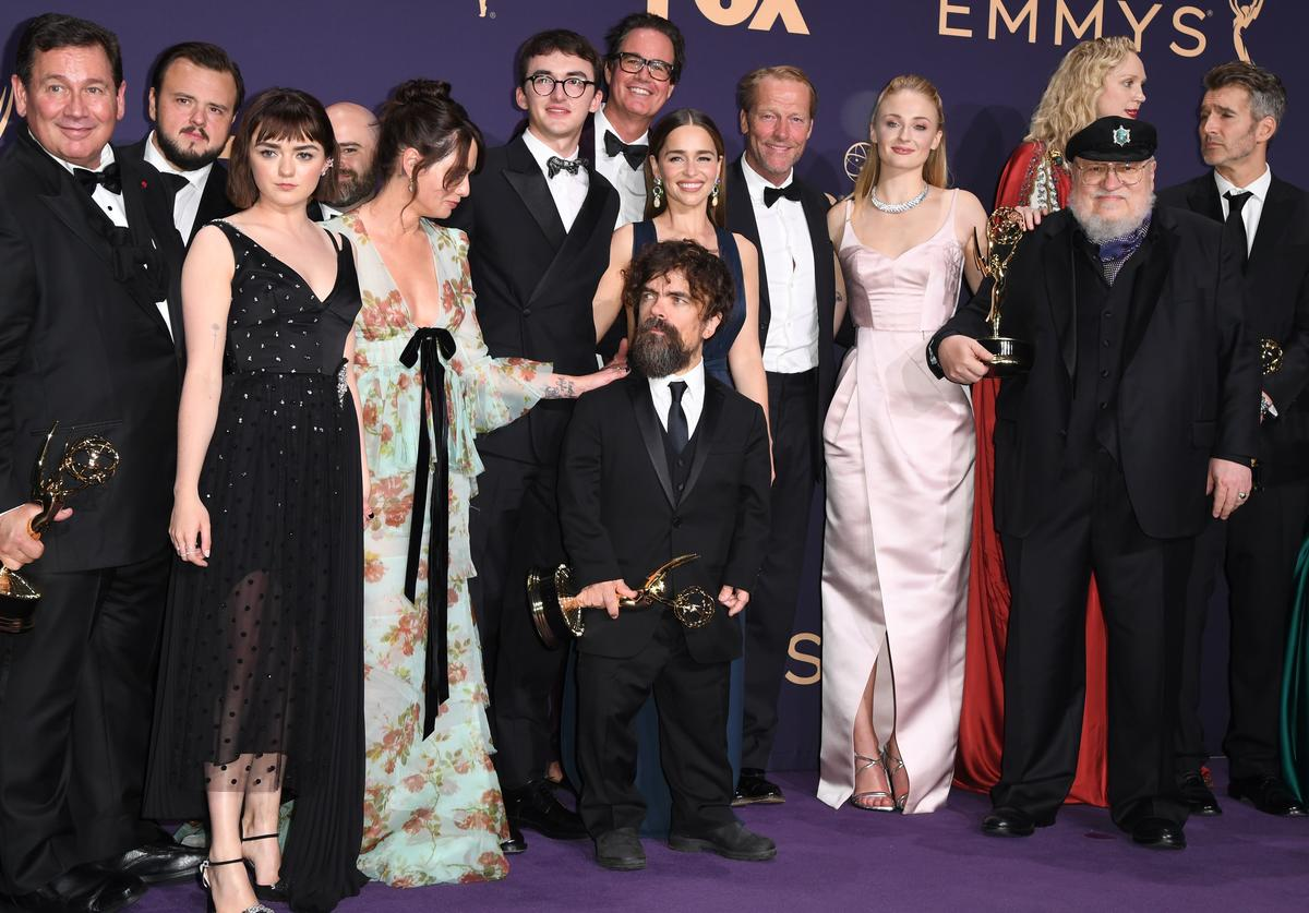 Game of Thrones cast at Emmys