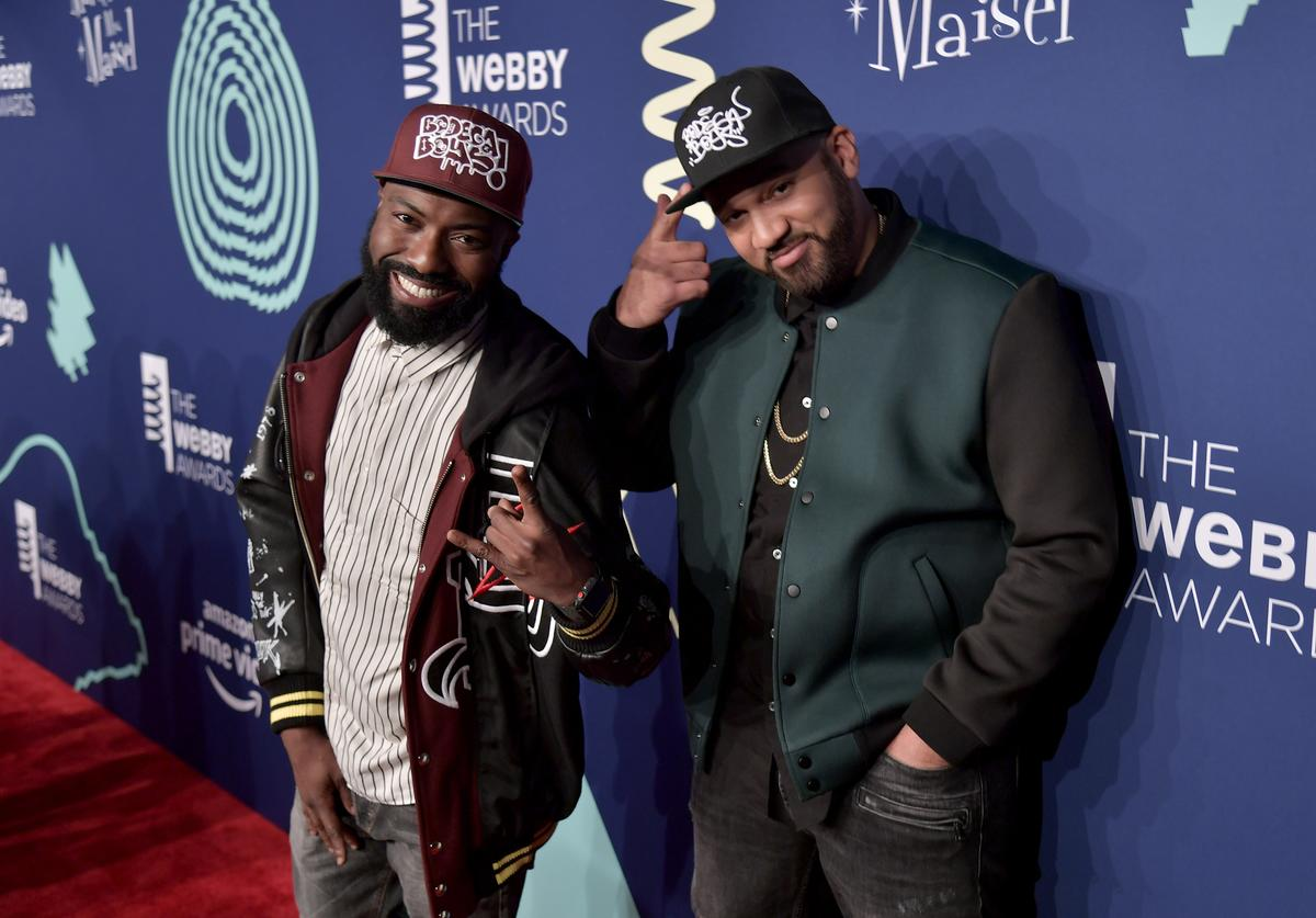 Desus Nice and The Kid Mero attend The 23rd Annual Webby Awards on May 13, 2019 in New York City.
