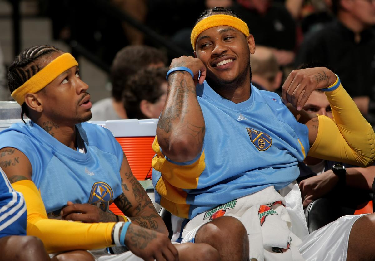 Allen Iverson & Carmelo Anthony