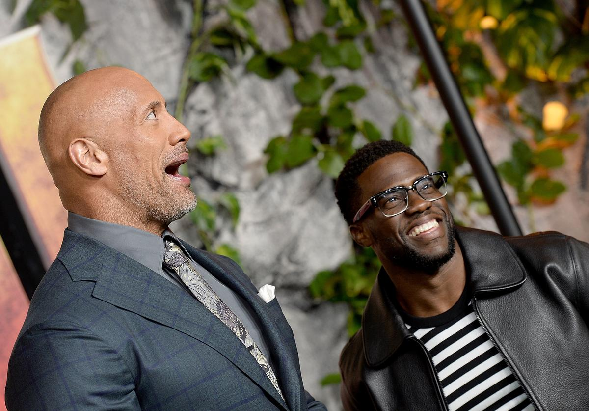 The Rock & Kevin Hart