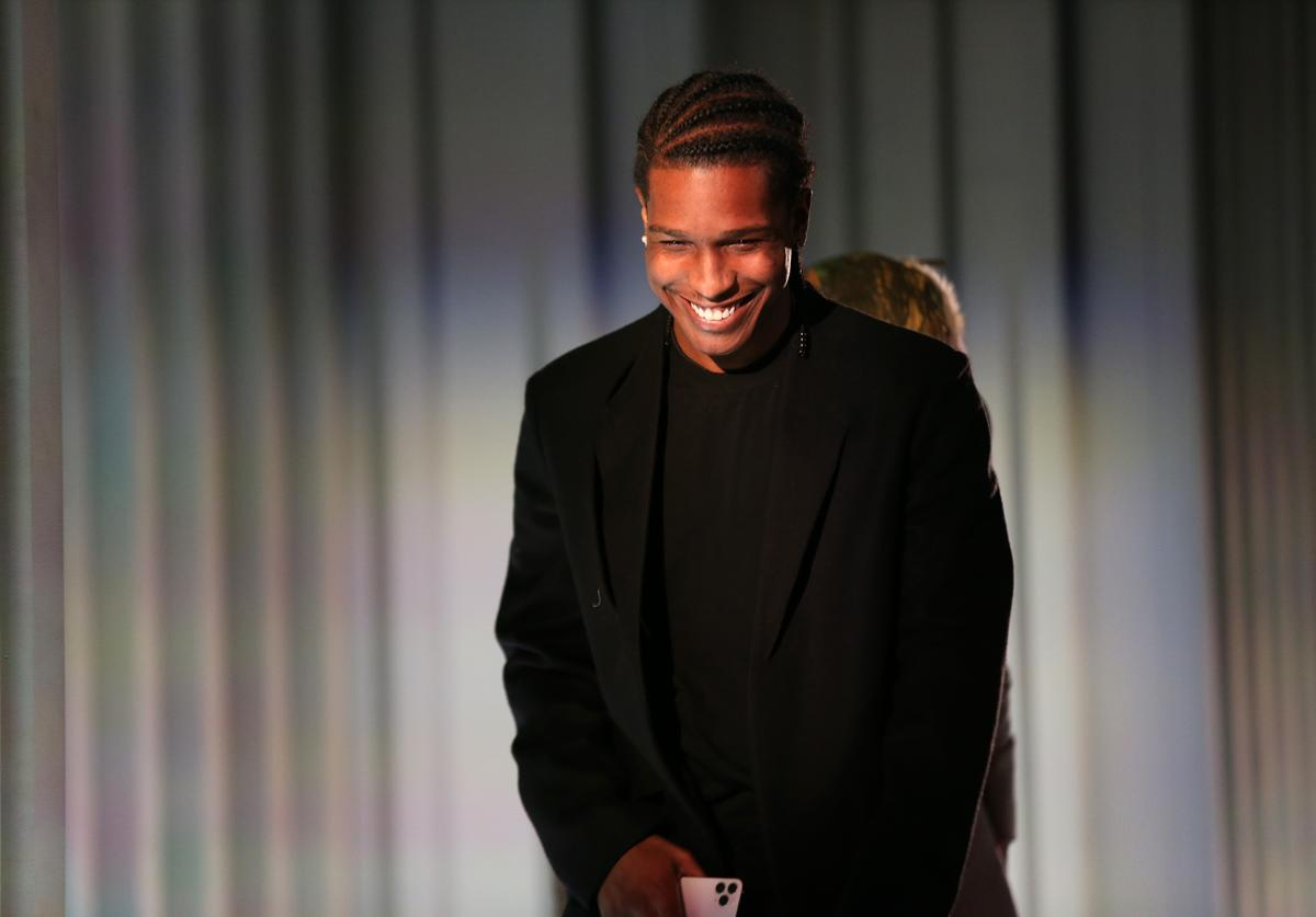 A$AP Rocky is seen onstage during the WSJ. Magazine 2019 Innovator Awards sponsored by Harry Winston and Rémy Martin at MOMA on November 06, 2019 in New York City.