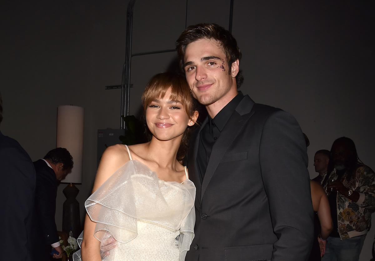 "Zendaya & Jacob Elordi at ""Euphoria"" premiere"