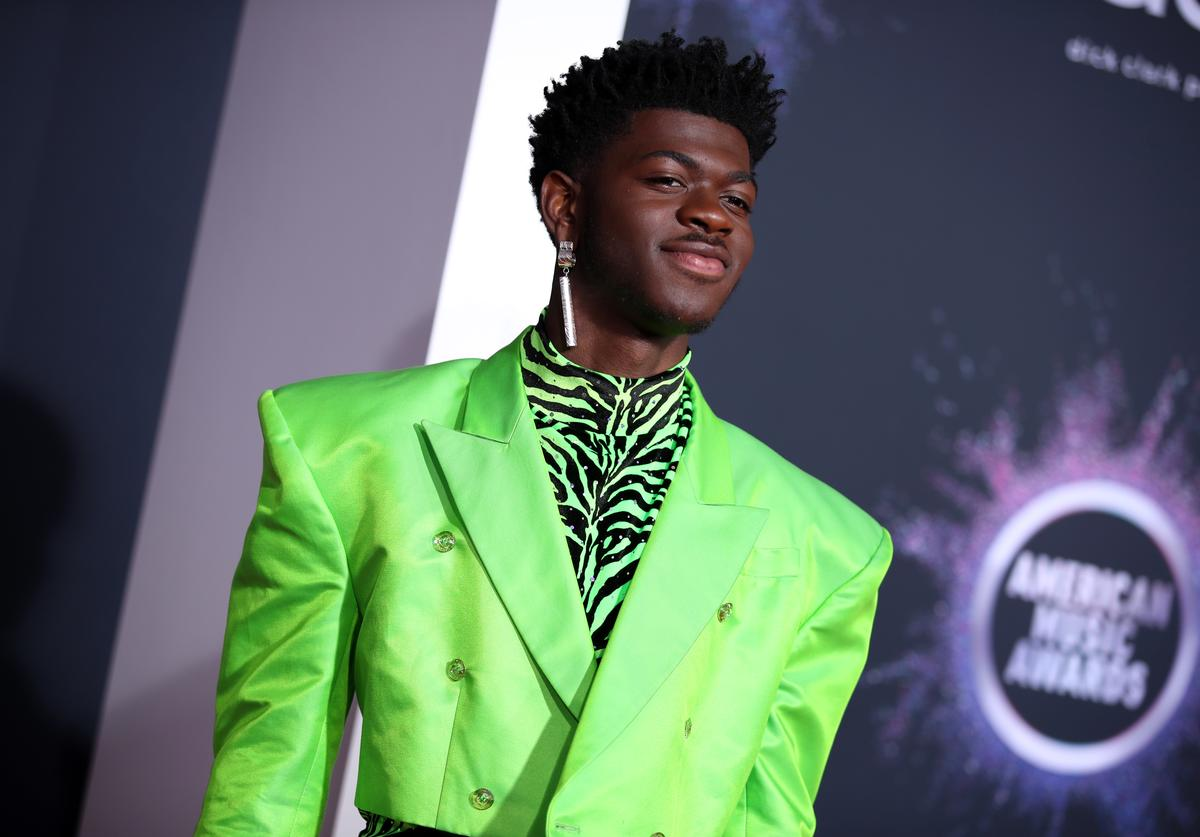 Lil Nas X at the 2019 AMAs