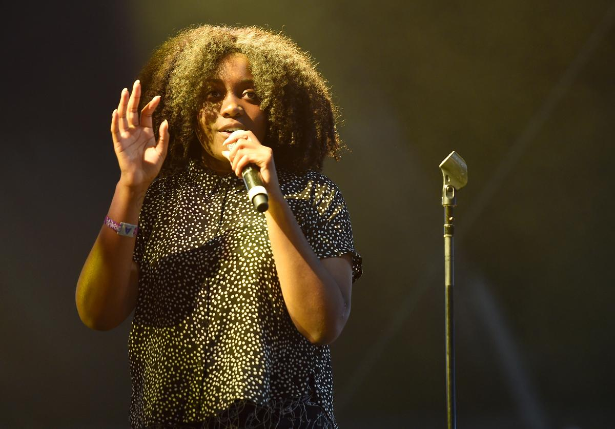 Noname performs onstage at the Pavilion during the 2017 Panorama Music Festival - Day 2 at Randall's Island on July 29, 2017 in New York City.